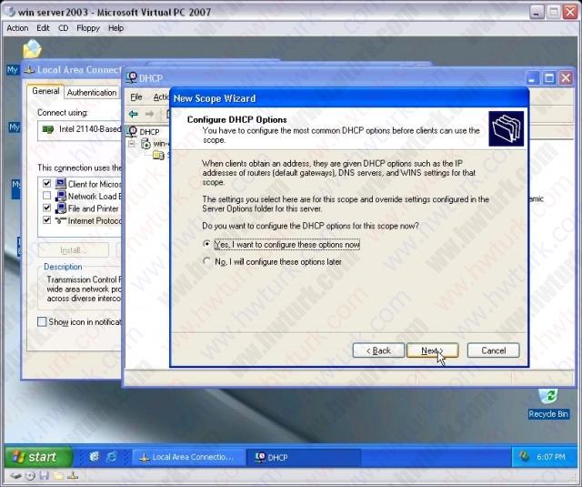 windows-server-2003-DHCP-server-kurulumu-09