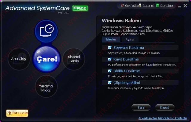 Advanced System Care Sistem Temizleyici ve Hizlandirici 02 640x410 Advanced System Care (Sistem Temizleyici ve Hızlandırıcı)