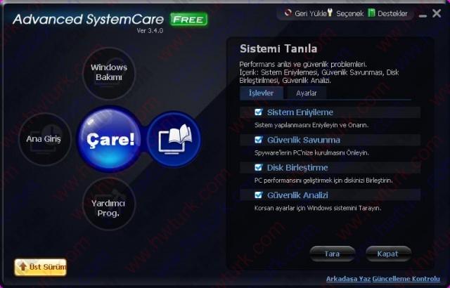 Advanced System Care Sistem Temizleyici ve Hizlandirici 05 640x410 Advanced System Care (Sistem Temizleyici ve Hızlandırıcı)