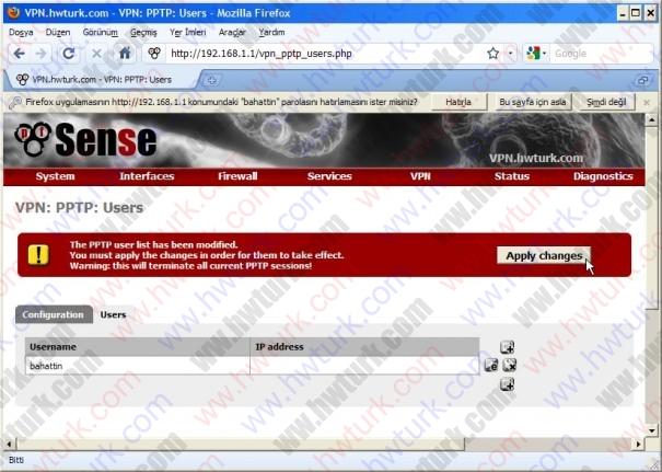 pfsense pptp vpn 02 03 605x431 pfSense PPTP vpn bağlantısı #2: Kullanıcı Eklemek