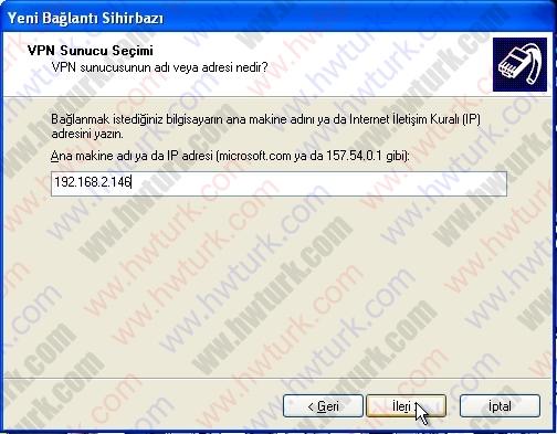 pfsense pptp vpn 04 06 pfSense PPTP vpn bağlantısı #4:Kullanıcı Bağlantısı