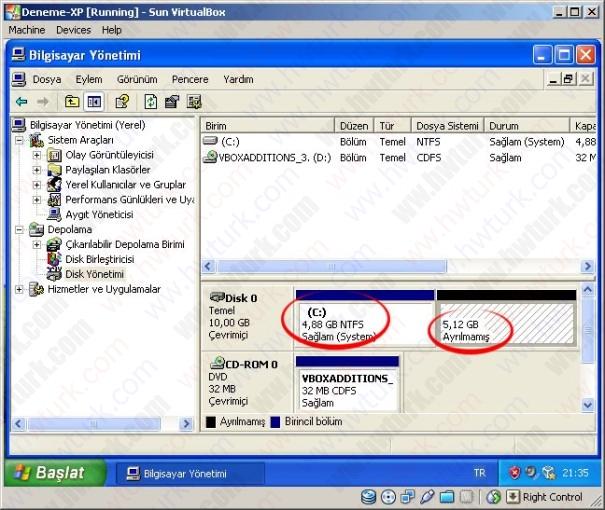 fedora farkli bolume kurulmasi 01 605x510 Fedora 12 Farklı Disk Alanına Kurulması