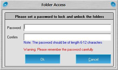 dosya sifreleme 01 Klasör Şifreleme Folder Access