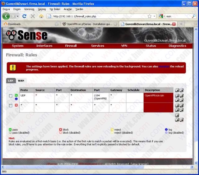 pfsense openvpn sunucu guvenlik 04 640x563 pfsense openvpn   sunucu güvenlik ayarı