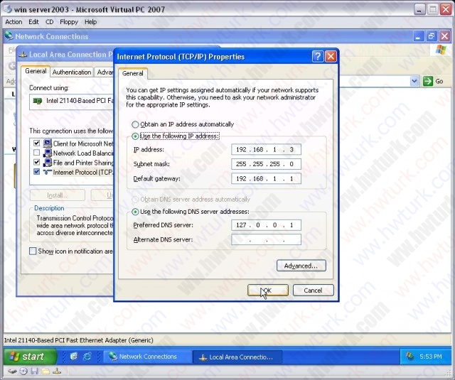 windows-server-2003-DHCP-server-kurulumu-01