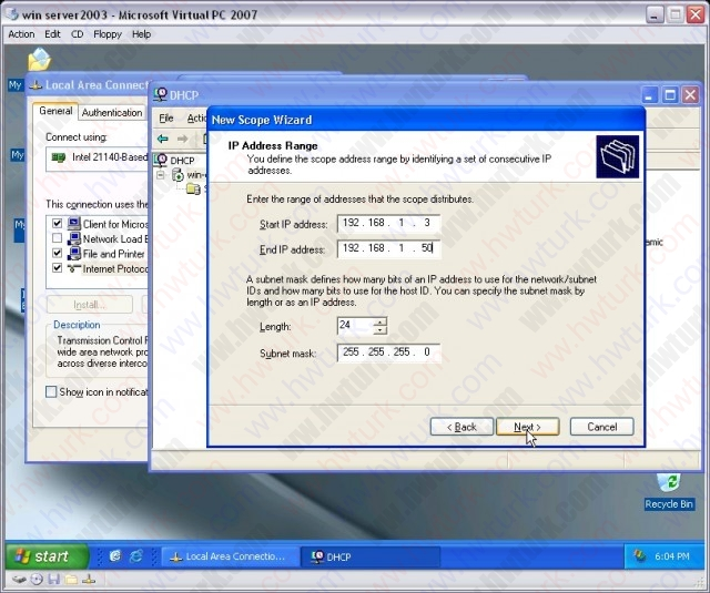 windows-server-2003-DHCP-server-kurulumu-06