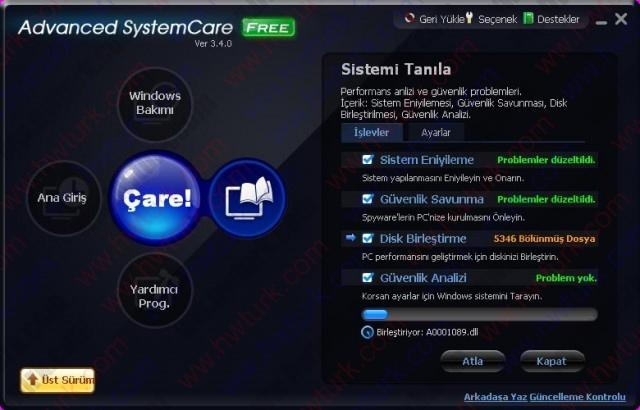 Advanced System Care Sistem Temizleyici ve Hizlandirici 07 640x410 Advanced System Care (Sistem Temizleyici ve Hızlandırıcı)