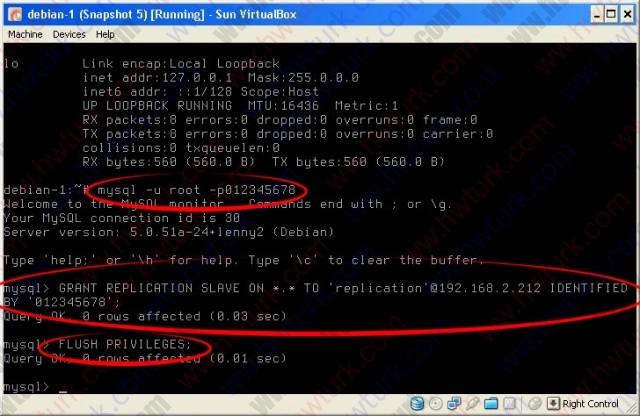 debian mysql master master replication 03 640x416 debian mysql master master replikasyon #1: 1.makine ayarları