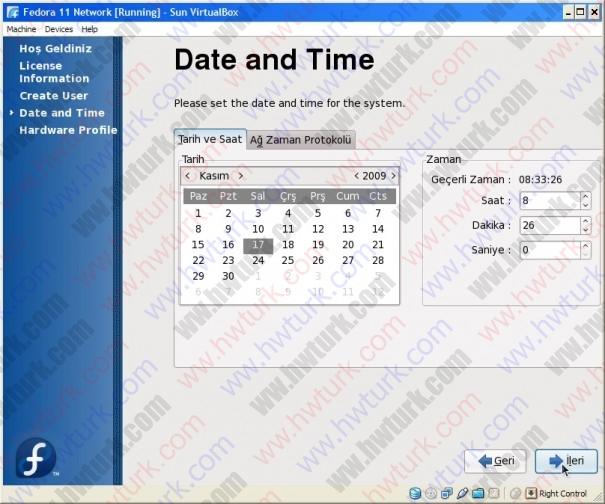 fedora 11 kurulum 25 605x504 Fedora 11 kurulum: İlk ayarlar