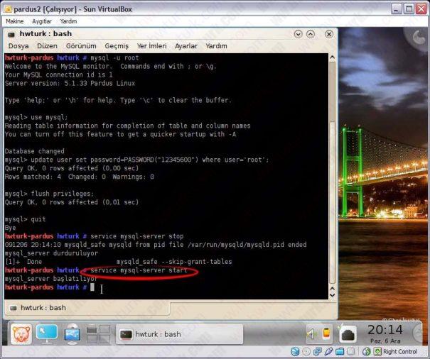 Pardus mysql sifre sifirlama 09 605x506 Pardus Mysql Şifre Sıfırlama