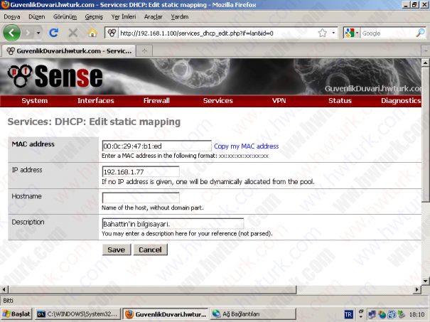 pfSense-DHCP-Server-ip-sabitlemek-02