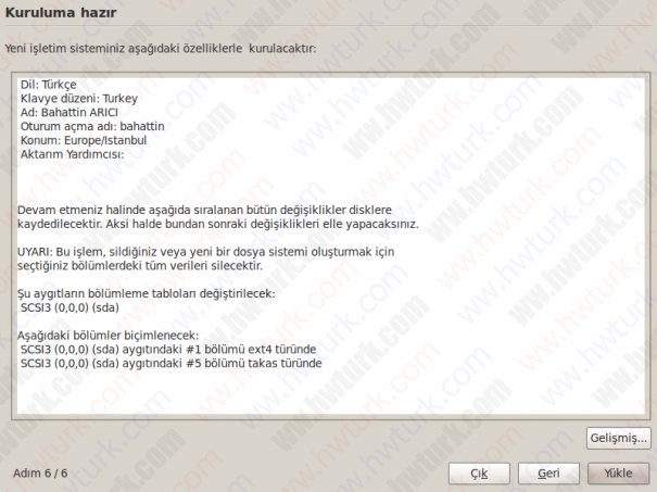 ubuntu 9 10 netbook kurulum 11 605x453 Ubuntu 9.10 Netbook Remix Kurulumu