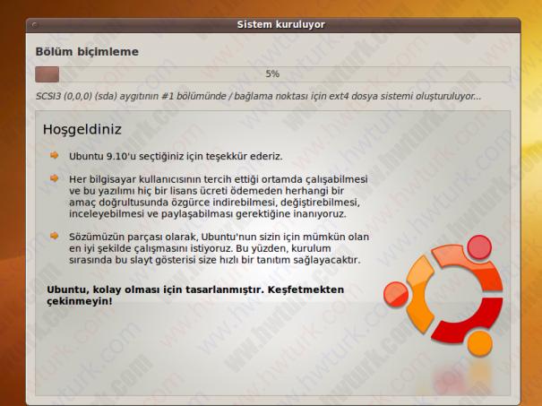 ubuntu 9 10 netbook kurulum 12 605x453 Ubuntu 9.10 Netbook Remix Kurulumu