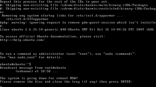 ubuntu 9 10 netbook kurulum 14 605x336 Ubuntu 9.10 Netbook Remix Kurulumu